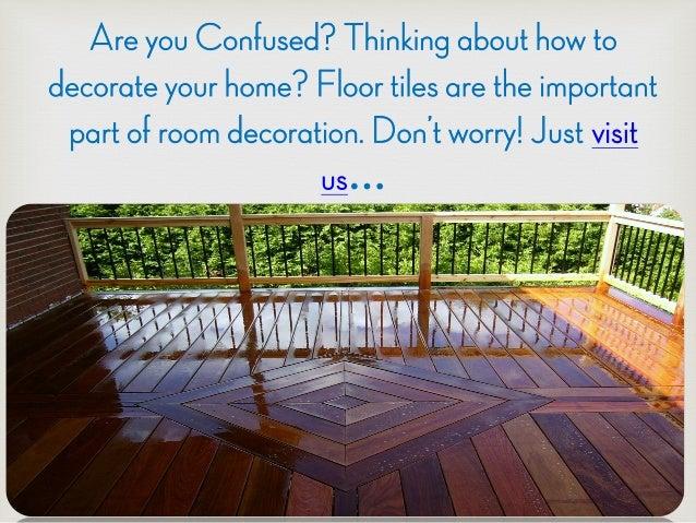 Get Attractive Floor Tiles From Ctm Flooring In Sydney