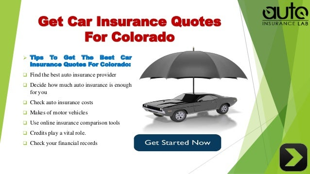 Motor Insurance Quotes | Acquire The Best Auto Insurance Colorado Quotes With Low Rates