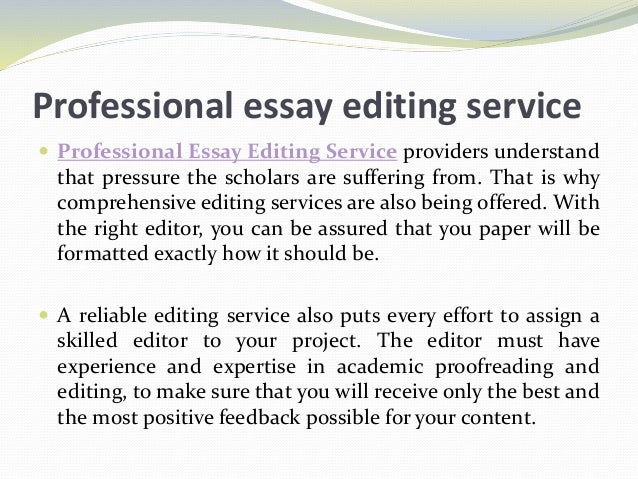 Paper Editing Saves Your Time