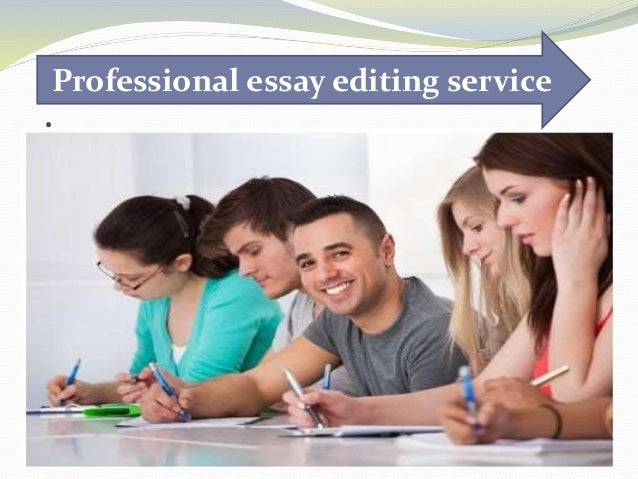 Best college essay editing service