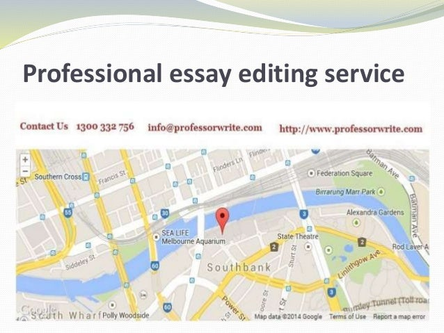 College paper writing editing services