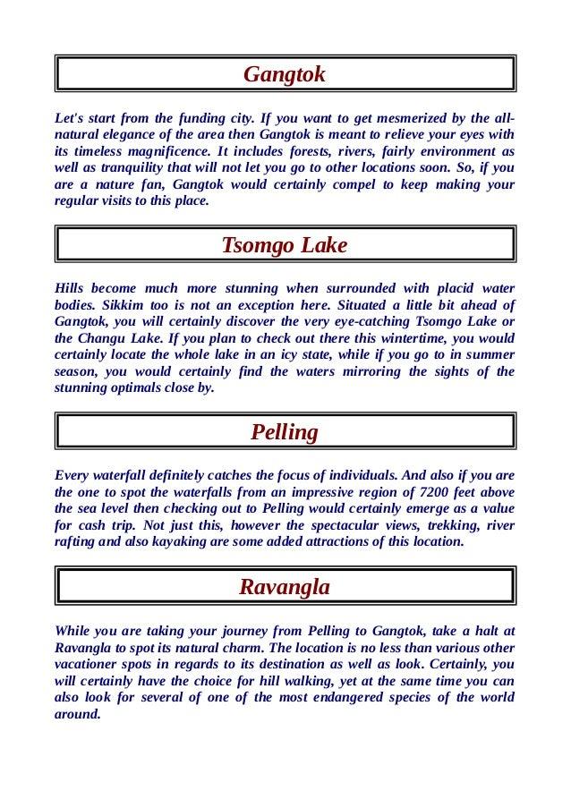 Get best deal on sikkim tour packages. Slide 2