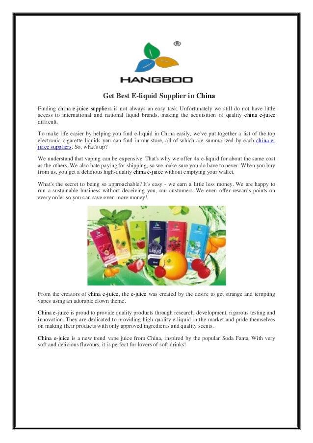 Get best e-liquid_supplier_in_china