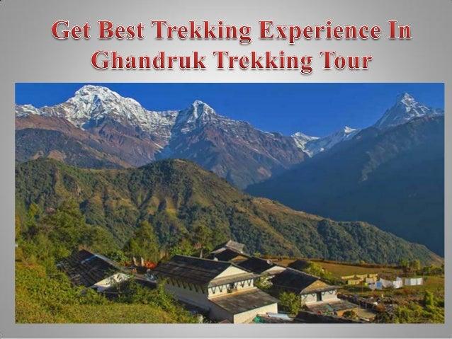 Get Best Trekking Experience In Ghandruk Trekking Tour