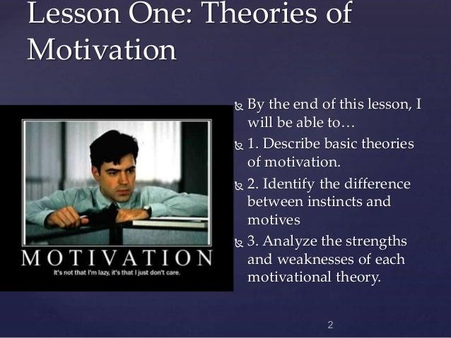 Motivation and Emotion Slide 2