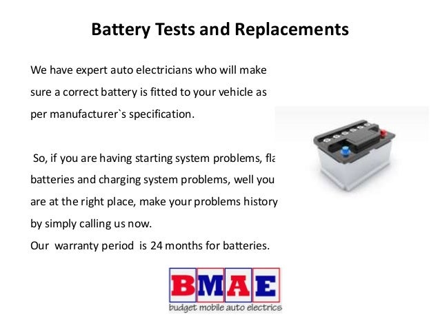Get Car Battery Replacement Melbourne South East Budget Mobile Auto