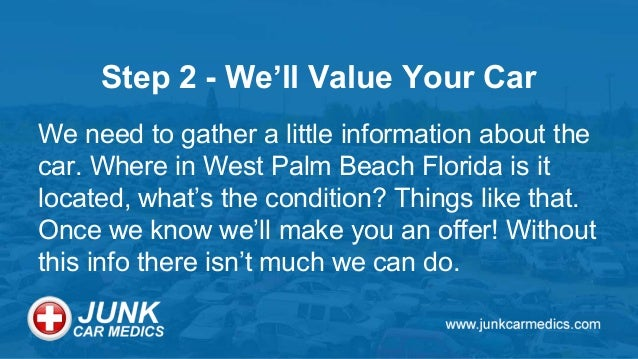 Get Cash For Your Junk Car In West Palm Beach Fl Today
