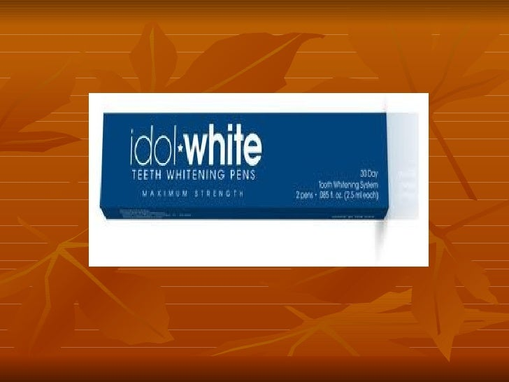 Idol white teeth whitening Slide 3