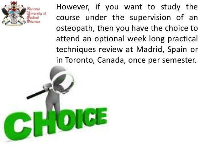 Get Certified in Bachelor of Science in Osteopathy Program