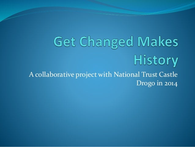 A collaborative project with National Trust Castle Drogo in 2014