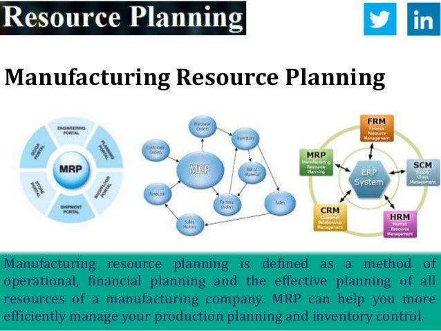 developing enterprise resource planning