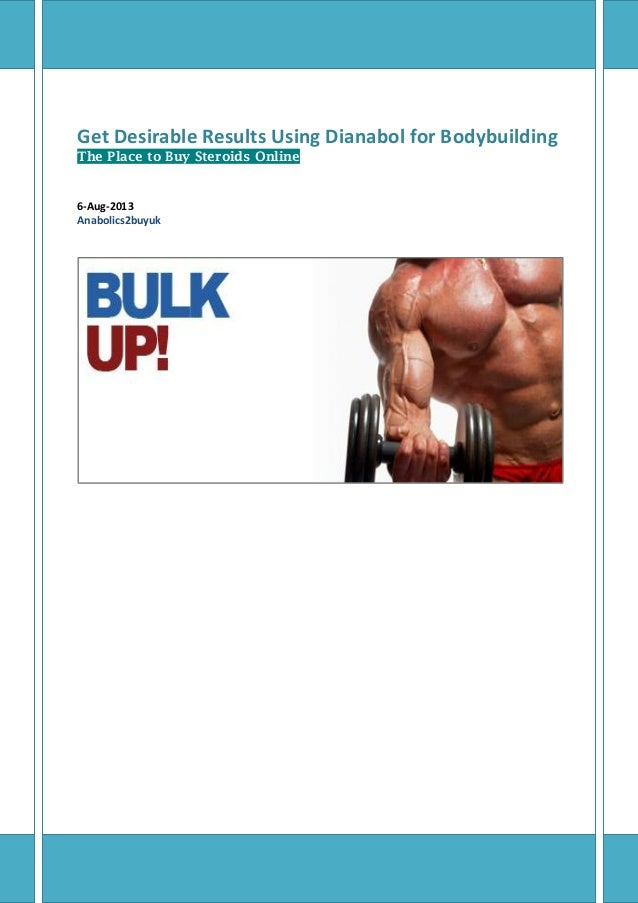 Get Desirable Results Using Dianabol for Bodybuilding