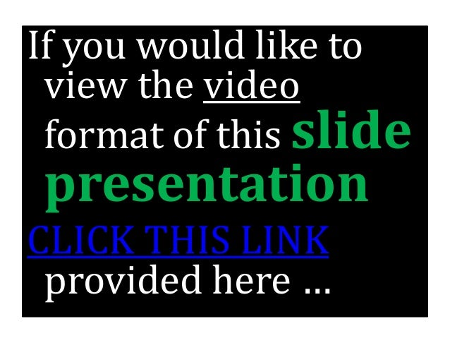 how to add a link to slideshare presentation