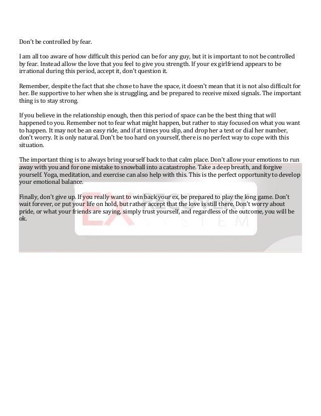 Get ex back articles ashley kay