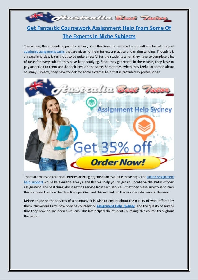 Get Fantastic Coursework Assignment Help From Some Of The Experts In  Get Fantastic Coursework Assignment Help From Some Of The Experts In Niche  Subjects