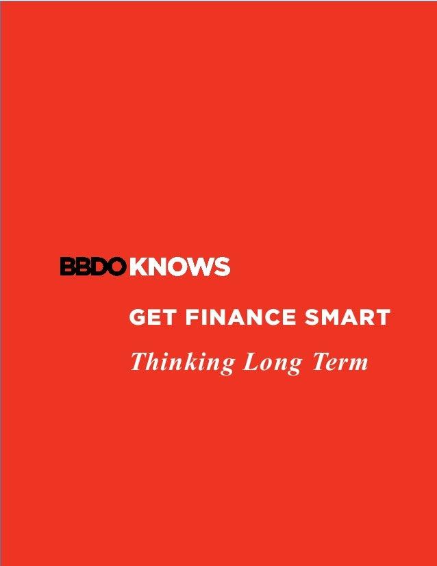 GET FINANCE SMART Thinking Long Term