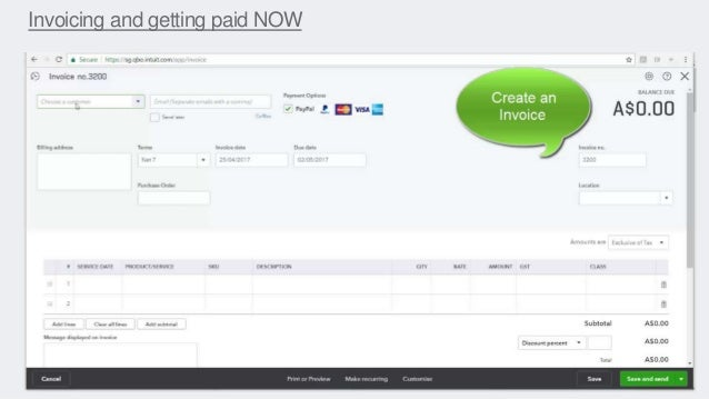 Invoicing and getting paid NOW