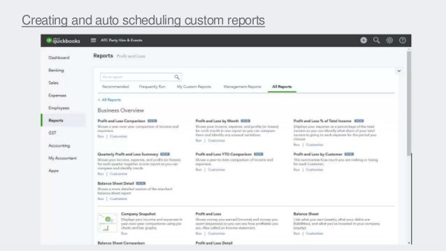 Creating and auto scheduling custom reports