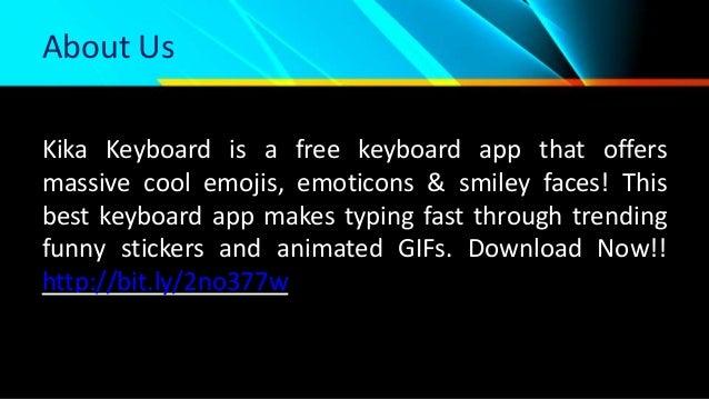 Get Free Best Android Kika Keyboard App   Kika Tech