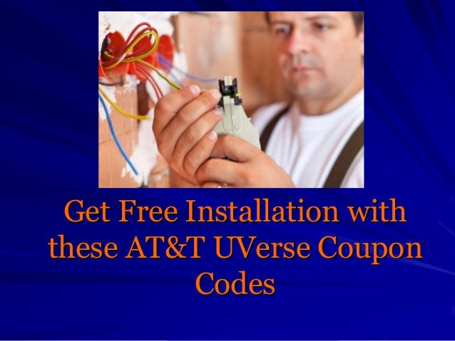 Get Free Installation with these AT&T UVerse Coupon Codes