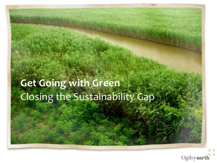 Get Going With Green: Presentation