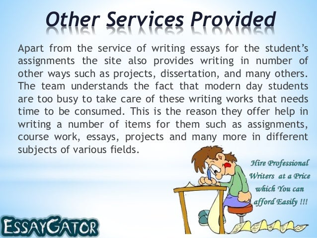 Service to others essay being helpful