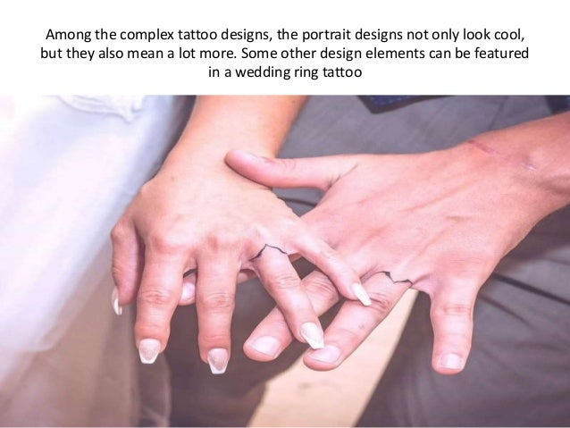Get inked your wedding ring tattoo with our amazing tattoo ideas!