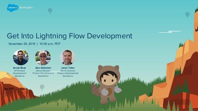 Get Into Lightning Flow Development