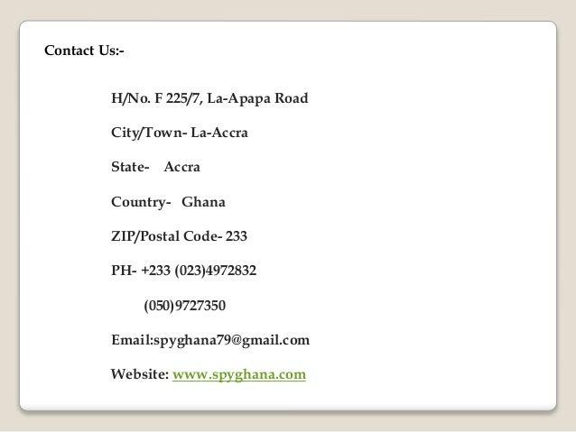 Zip Code What Of Accra Is Ghana The