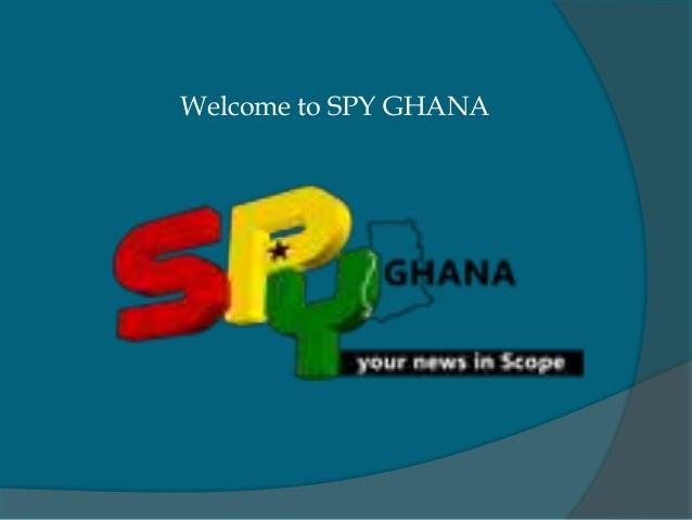 Welcome to SPY GHANA