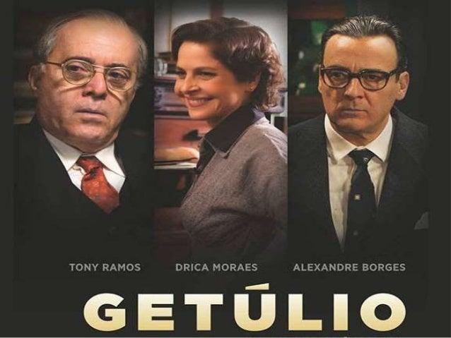 FILME GETÚLIO X  ERA VARGAS  Getúlio, na voz do ator Tony Ramos, introduz a  história que será contada com um monólogo no ...