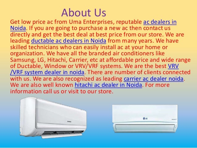 Get Low Price AC from Reputable AC Dealers in Noida Call us on 9818934934  www.acdealernoida.in  2. 210b35001b16