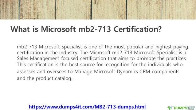 get mb2 713 microsoft dynamics crm latest exam dumps question 2