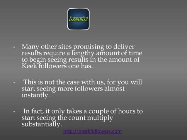 Get me followers on keek Slide 3