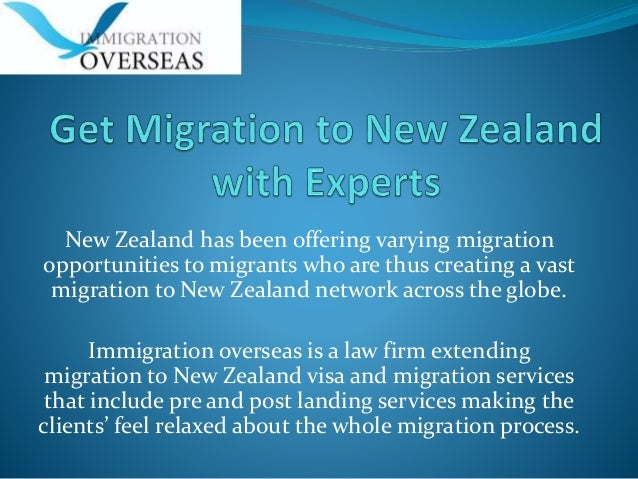 New Zealand has been offering varying migration opportunities to migrants who are thus creating a vast migration to New Ze...