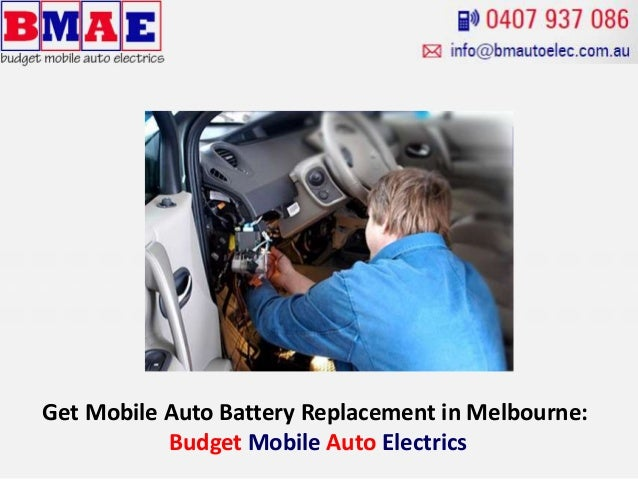 Get Mobile Auto Battery Replacement In Melbourne Budget Mobile Auto