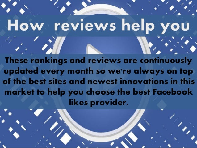 You can save your time and money by reading the FaceBook Likes Reviews in order to select the good service provider firm