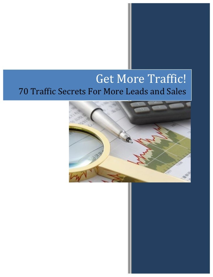 Get More Traffic!  70 Traffic ...