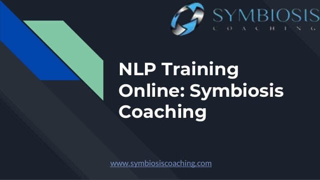 Get Live NLP Training at Symbiosis Coaching