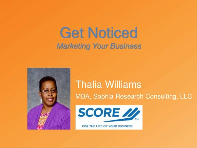 small business marketing get noticed