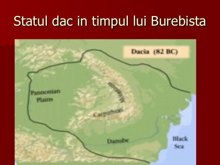 Statul dac in timpul lui Burebista