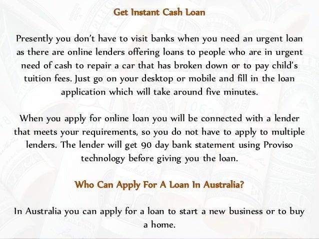 Get online fast cash loan for an emergency Slide 2