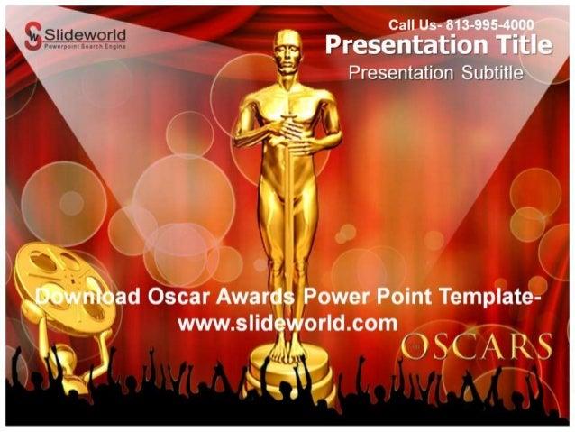 Get online oscar awards powerpoint template toneelgroepblik Gallery