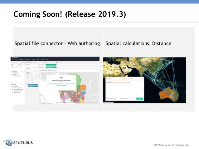 Get on the map with Tableau release 2019 2