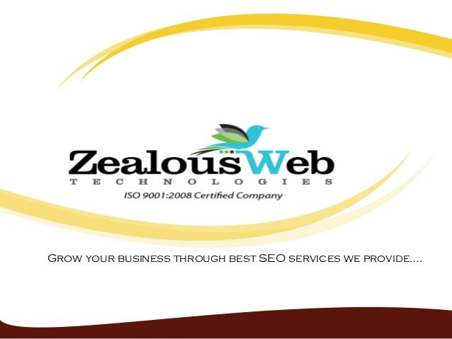 Grow your business through best SEO services we provide….