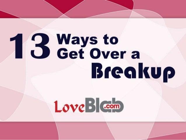 ways to get over your ex girlfriend