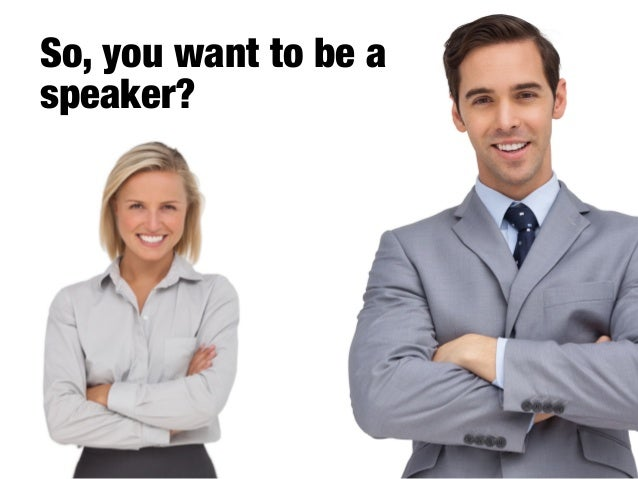Get paid to speak - find a topic that sells Slide 2