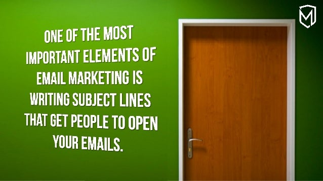 Get People to Open your Emails Slide 2