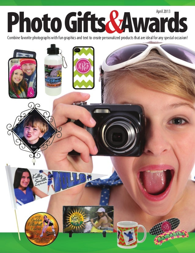 PhotoGifts Awards April2013 Combine favorite photographs with fun graphics and text to create personalized products that a...