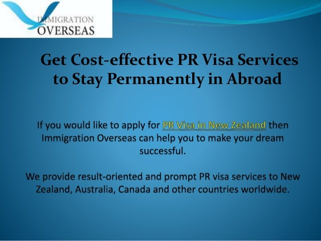 Get Cost-effective PR Visa Services to Stay Permanently in Abroad